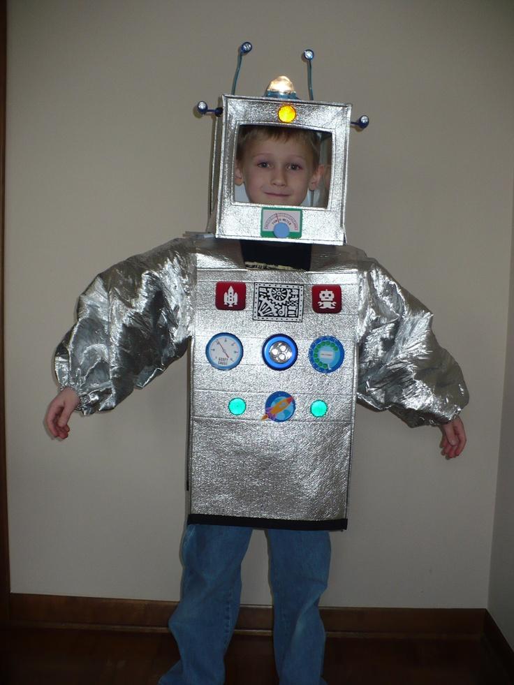 Костюм робота сделать своими руками