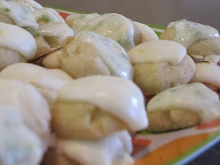 lemon drop cookies or leave out the lemon & add vanilla extract-