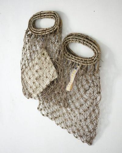 bags - solomon's knot stitch
