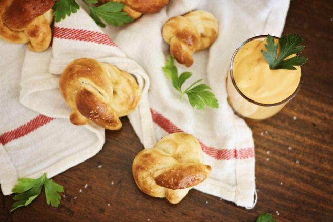 Mini Soft Pretzels :: Party Recipe