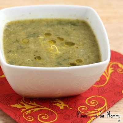Chickpea & Spinach Soup... sounds yummy!