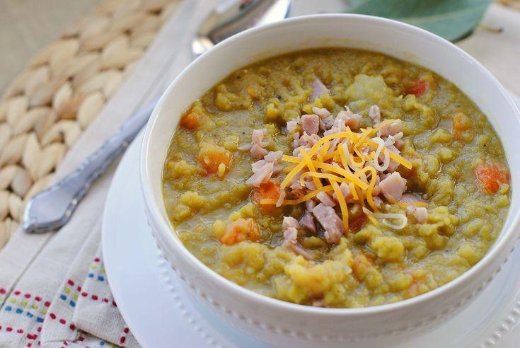 Split Pea Soup with Ham | Soup and Salad | Pinterest