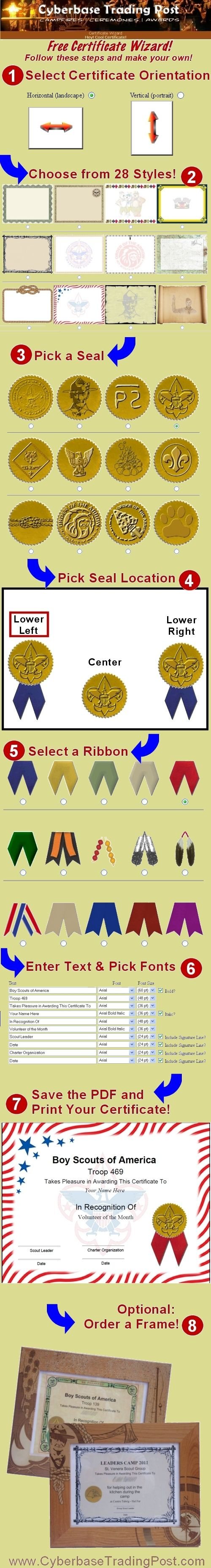 Eagle Scout Certificate Template