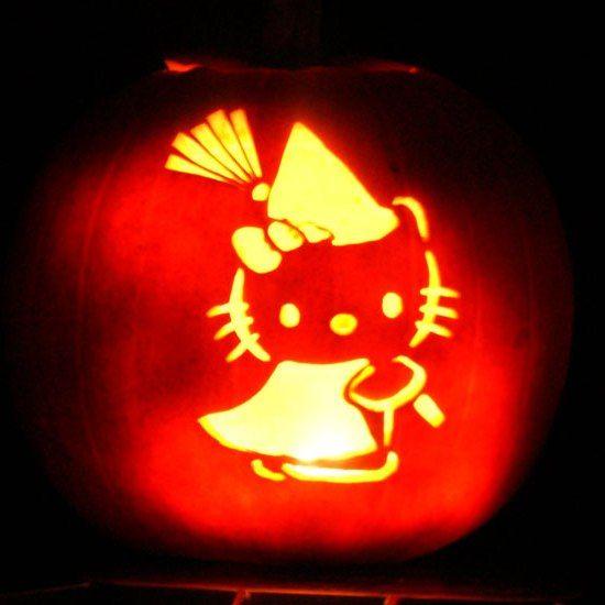 Cute pumpkin carving patterns for kids halloween pinterest