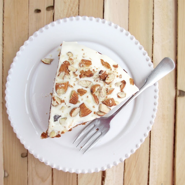 The Best Carrot Cake Ever with Lime Mascarpone Frosting