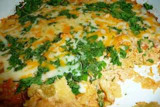 Chile Relleno Bake-Really good and quick. This is a great fall back ...