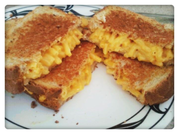 Grilled Mac n Cheese Sandwich   Food porn   Pinterest