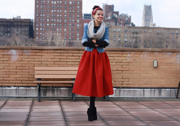 winter midi skirt all about me