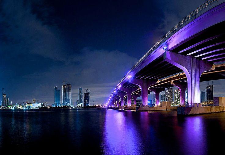 Miami, Florida | ~ Beautiful Bridges ~ | Pinterest Florida