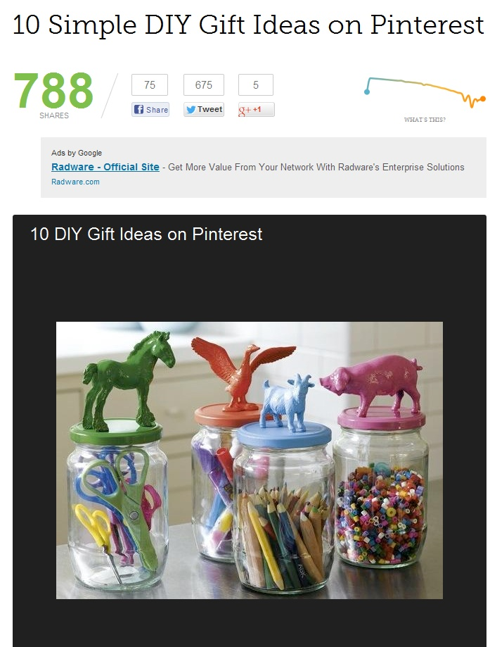 10 simple diy gift ideas on pinterest