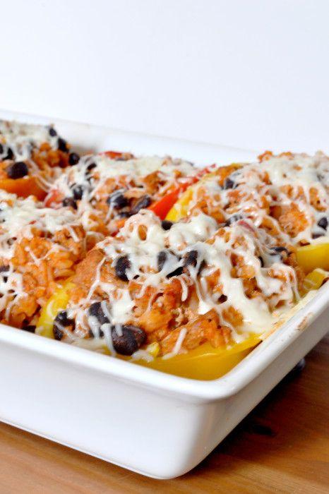 Turkey Stuffed Peppers - a fabulous Gluten Free dinner #glutenfree # ...