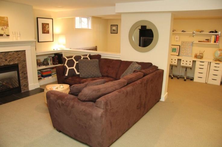 basement office for the home pinterest