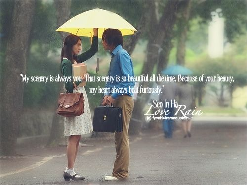 Love Rain Korean Drama Quotes Tumblr ~ Love Rain on Pinterest | 17 ...