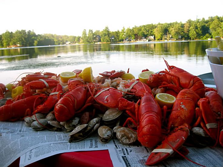 Clambakes. Remembering summers in Maine, and counting the number of ...