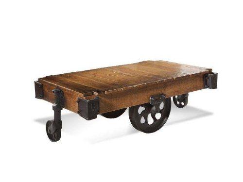 Railroad Cart Coffee Table 4 Francis Railroad Carts Pinterest