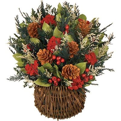 Winter dried floral arrangement dried floral arrangements pintere - Best dried flower arrangements a colorful winter ...