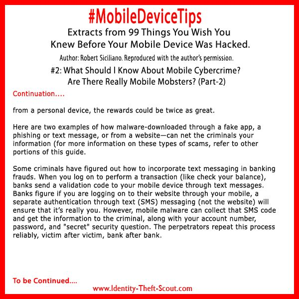 Mobile Cybercrime 2