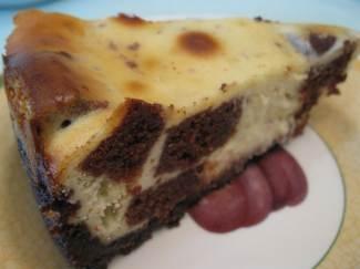 Brownie Mosaic Cheesecake | Desserts | Pinterest