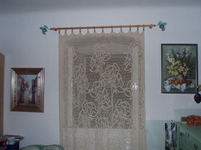 crochet curtain | Crochet Curtains | Pinterest