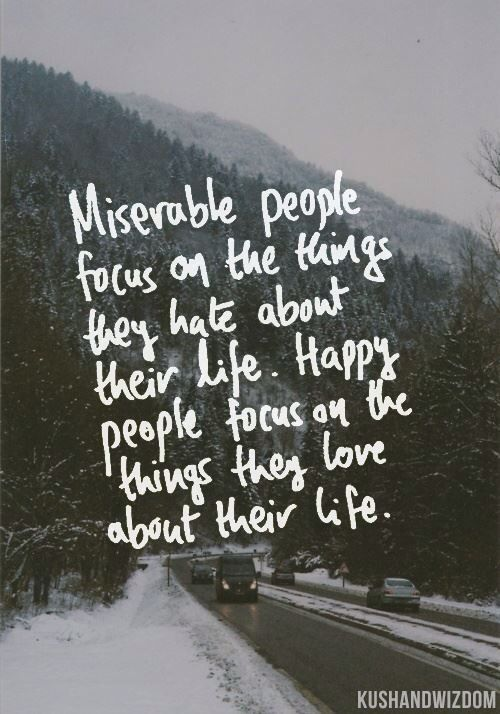 Miserable people quotes Pinterest