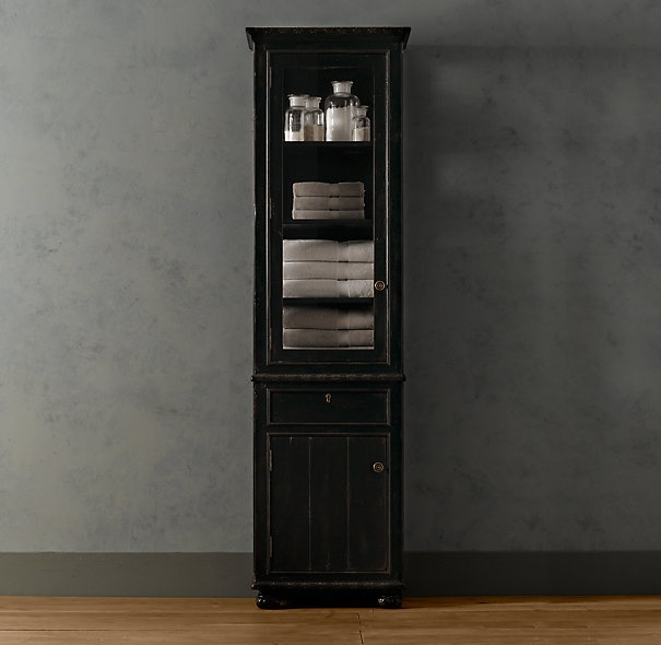 Original Bathroom Storage Can Be A Tricky Issue We Often Try To Store An Awful Lot Of Toiletries And Towels In A Very Tight Space! If You Have The Space For External Storage, You May Have Looked Into Hutches Like The Restoration Hardware Kent Bath
