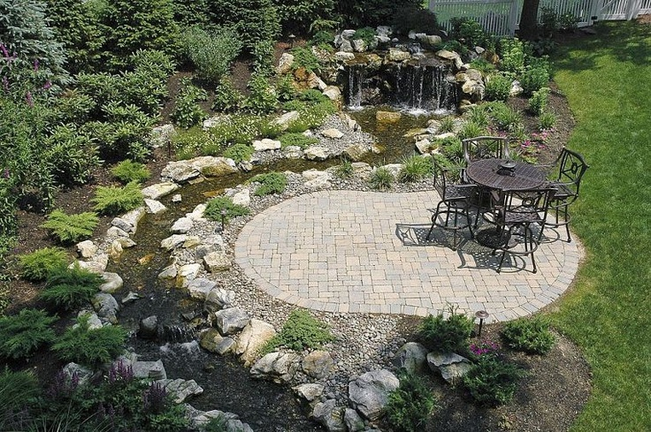 fun beautiful and safe for kids think pondless waterfall and stream