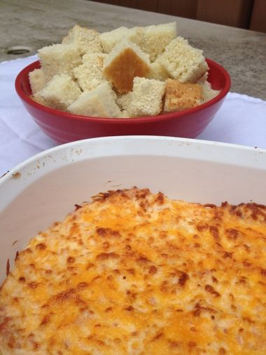 "Hot Ham and Cheese Dip inspired by ""Arrested Development."""