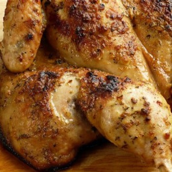 Roasted Chicken With A Mustard Crust | Food, glorious FOOD! | Pintere ...