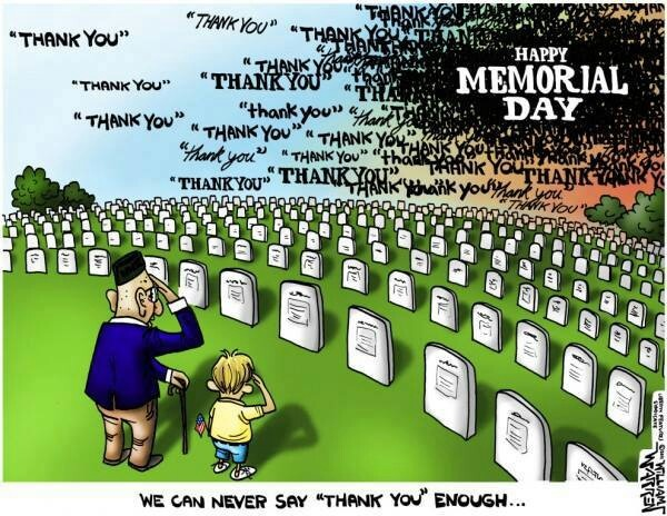 funny memorial day cartoons