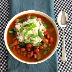 Andouille Soup with Red Beans and Rice - quick and healthy Cajun ...