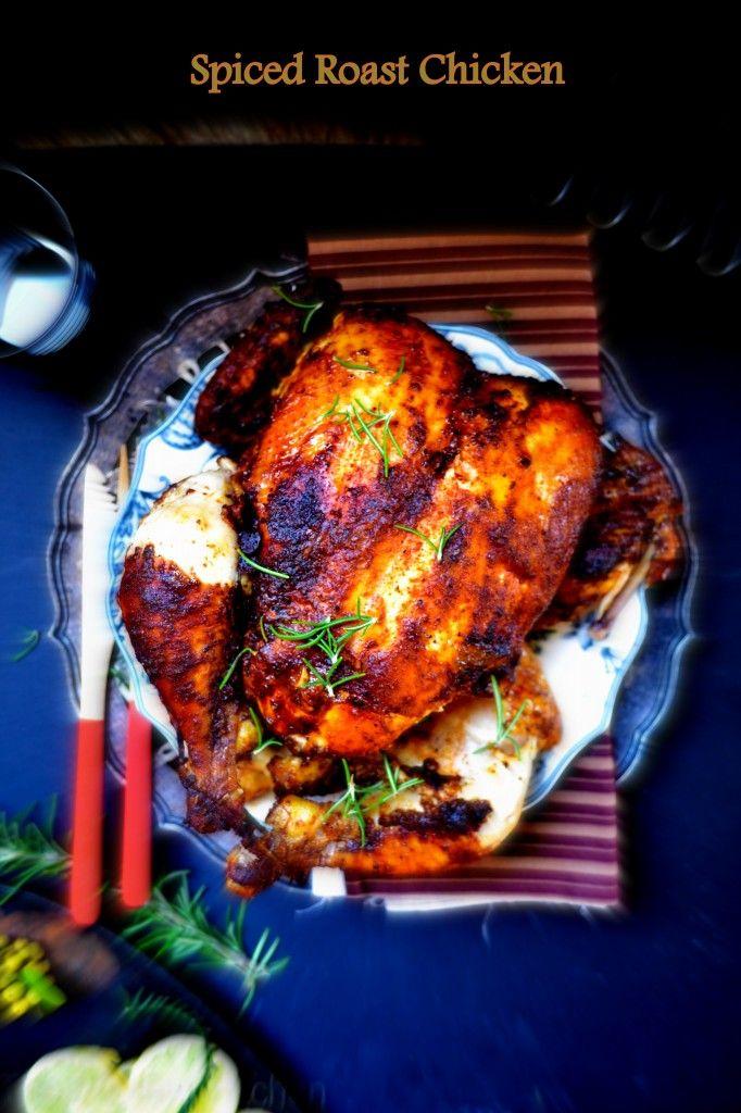 Spiced Roast Chicken | Dishes | Pinterest