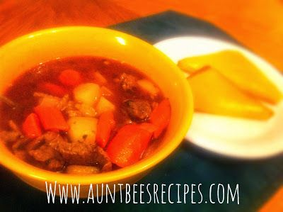 Beef Stew with Beer and Paprika (Adapted for our family from the ...