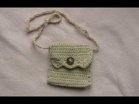 Crochet Bags And Purses Tutorial : simple and lovely crochet bag tutorial Bags Pinterest