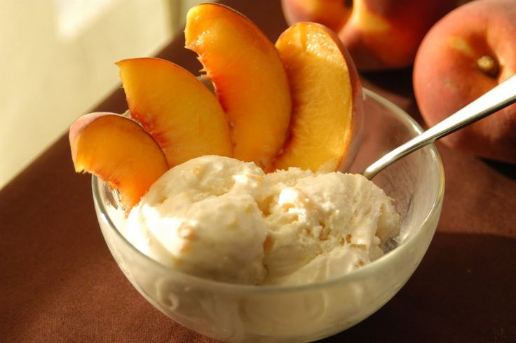 Sweet Grilled Peaches With Homemade Candied Ginger Ice Cream Recipes ...