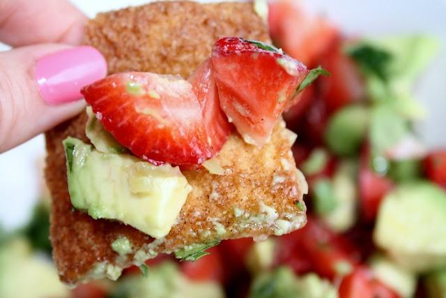 Strawberry and Avocado Salsa | yum yum yum | Pinterest