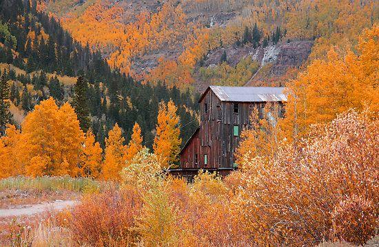 Old mill in colorado