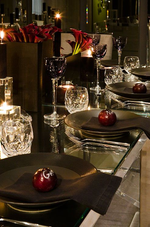... Table Decorations, Wedding Table Settings, || Colin Cowie Weddings