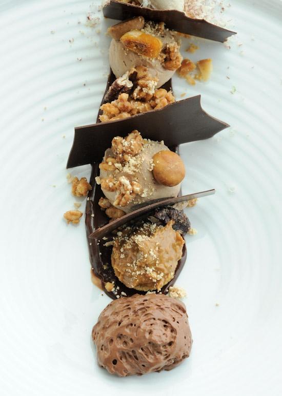 Chocolate Wontons And Tonka Bean Ice Cream Recipe — Dishmaps
