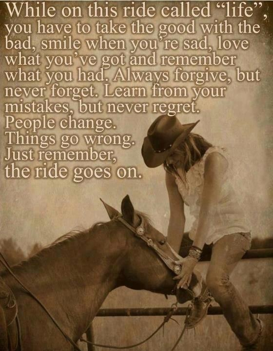 Cowgirl Quotes About Horses Quotesgram