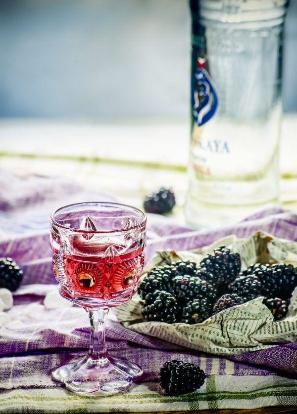 DIY Blackberry Liqueur from @thecocktailguys (Recipe by Ian Carrico ...