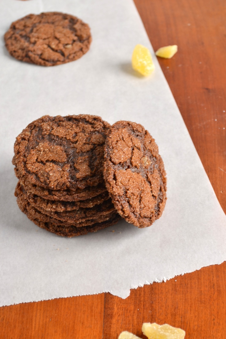 100% Whole Wheat Chewy Triple Ginger Cookies | Recipe