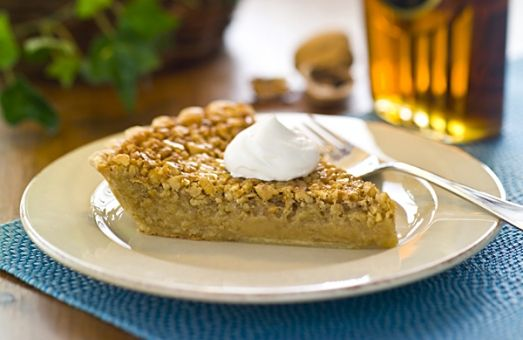 ... like a cross between a butter tart and a pecan pie # maple # pie