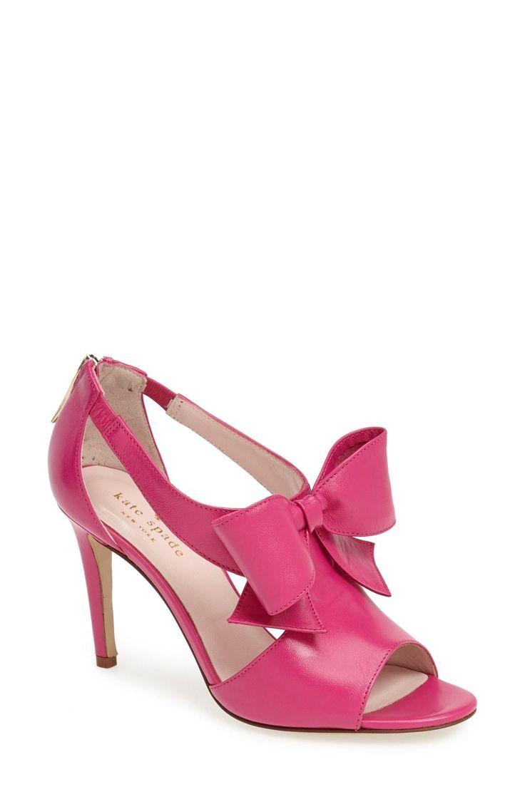 pretty pink pumps kate spade shoe lust