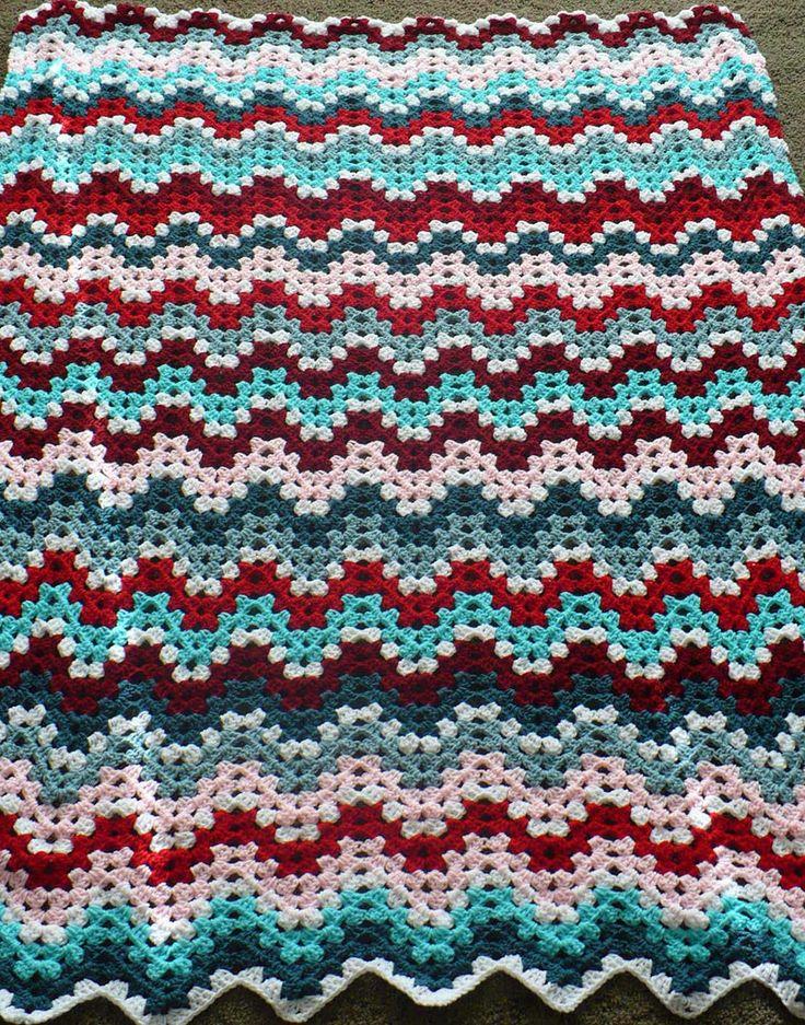 Crochet Stitches Granny Ripple : Granny Ripple