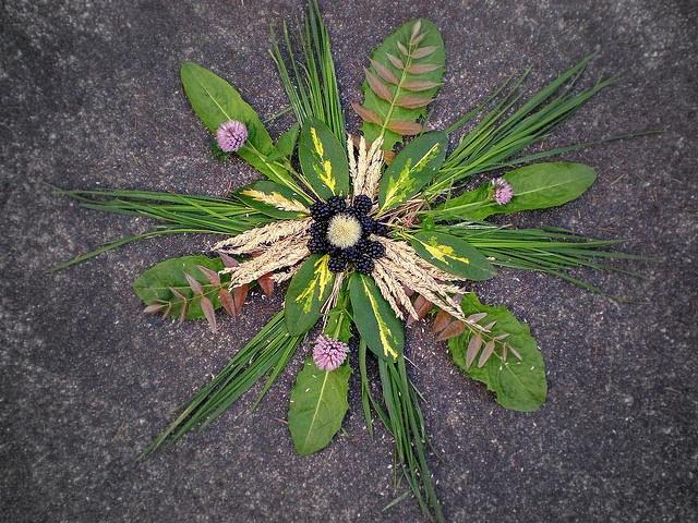 Natural mandala art ideas pinterest - Mandala nature ...