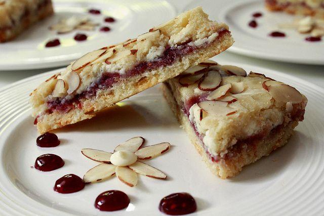 Raspberry Almond Bars | Cookies/Bars | Pinterest