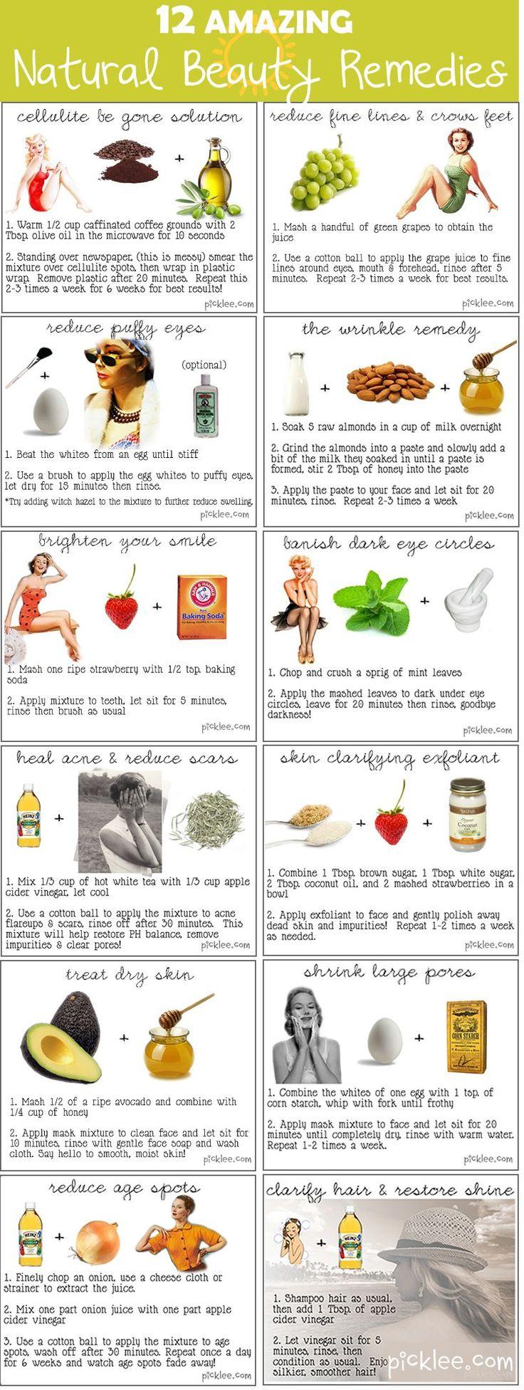 12 Beauty Recipes.