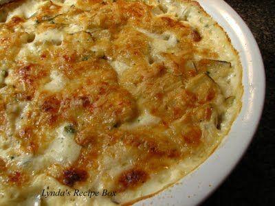 Creamy Herbed Potatoes | y u m | Pinterest