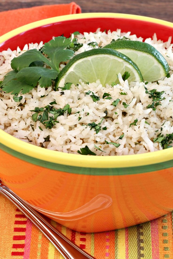 Lime Cilantro Rice 2 cup water 1 tbsp butter 1 cup long-grain white ...