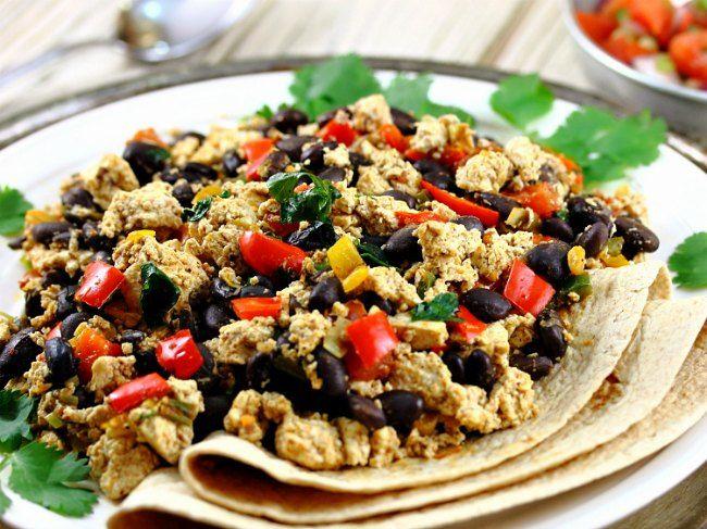 Cinco de mayo tofu scramble foodie pinterest